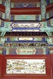 Oude gebouwendecoratie. Royalty-vrije Stock Afbeeldingen