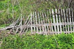 Oude gebroken houten omheining Royalty-vrije Stock Fotografie