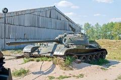 Oude gebroken tank Royalty-vrije Stock Fotografie