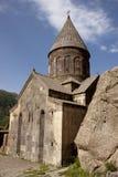 Oude Geghard monastyr Stock Afbeeldingen
