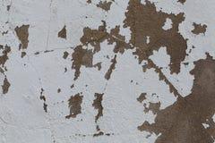 Oude gekrast vuil van de muurtextuur stock afbeelding