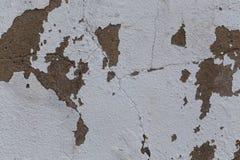 Oude gekrast vuil van de muurtextuur stock foto