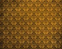 Oude Gele Achtergrond Grunge Stock Afbeeldingen