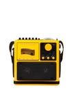 Oude gele radio Royalty-vrije Stock Afbeeldingen