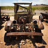 Oude Geroeste Auto's Royalty-vrije Stock Fotografie