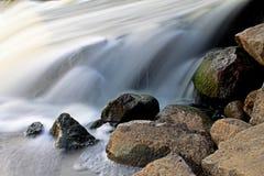 Oude geruïneerde dam Royalty-vrije Stock Fotografie