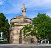 Oude geruïneerde moskee in Vlora, Albanië Stock Afbeelding