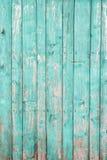 Oude geschilderde houten muur - textuur of achtergrond stock afbeelding