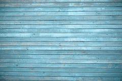 Oude geschilderde houten muur - textuur of achtergrond Royalty-vrije Stock Foto's