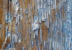 Oude geschilderde houten plank Royalty-vrije Stock Afbeeldingen