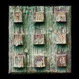 Oude geschilderde houten plank Royalty-vrije Stock Fotografie