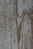 Oude geschilderde houten raad Stock Fotografie
