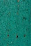 Oude geschilderde houten raad Stock Foto