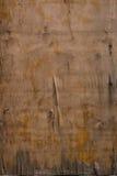 Oude geschilderde houten raad Stock Foto's