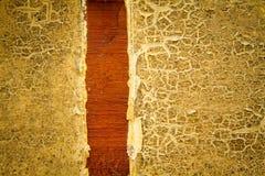 Oude geschilderde houten textuurachtergrond Royalty-vrije Stock Afbeelding