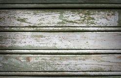 Oude geschilderde houten uitstekende muur Royalty-vrije Stock Fotografie