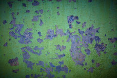 Oude geschilderde muur Stock Foto
