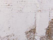 Oude geschilderde muur Royalty-vrije Stock Fotografie