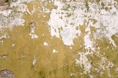 Oude geschilderde muurtextuur royalty-vrije stock afbeelding