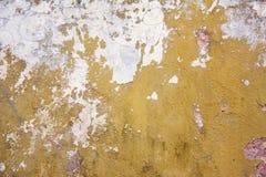 Oude geschilderde muurtextuur Royalty-vrije Stock Fotografie