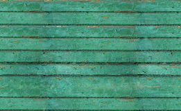 Oude geschilderde planken Stock Foto's