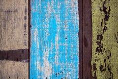 Oude geschilderde raad Stock Foto