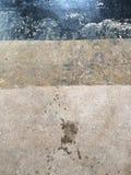 Oude geschilderde vloer Stock Afbeelding