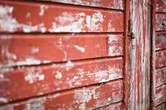 Oude gesloten deur Stock Afbeeldingen