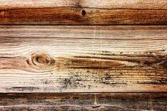 Oude gestreepte houten textuur Royalty-vrije Stock Fotografie