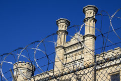 Oude Gevangenis Joliet Stock Afbeeldingen