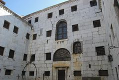 Oude gevangenis, Venetië Royalty-vrije Stock Fotografie