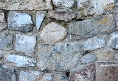 Oude geweven muurachtergrond Stock Foto