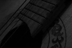 Oude gitaar Stock Foto