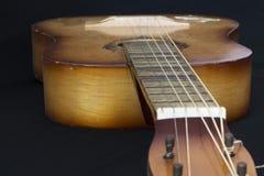 Oude gitaar, Koord, Antiquiteit royalty-vrije stock foto's