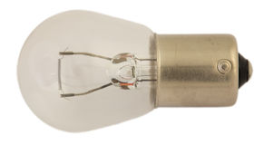 Oude gloeilamp voor autokoplampen Stock Fotografie