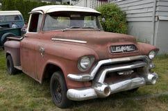 Oude GMC-vrachtwagen Royalty-vrije Stock Foto