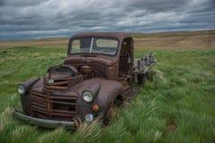 Oude GMC-vrachtwagen Stock Foto's