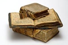 Oude godsdienstige boeken Stock Afbeeldingen