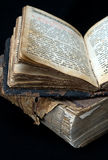 Oude godsdienstige boeken Stock Foto's