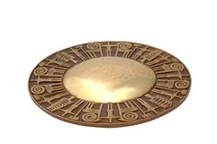 Oude gong Stock Fotografie