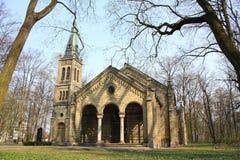 Oude gotische kerk Stock Afbeelding