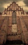 Oude gotische kerk Stock Afbeeldingen