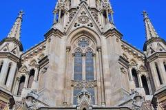 Oude gotische kerk Stock Foto