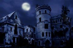 Oude gotische manor Royalty-vrije Stock Afbeelding