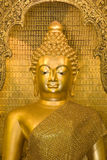 Oude gouden Boedha Stock Fotografie