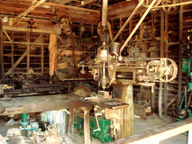 Oude Gouden Workshop @ Soevereine Heuvel, Ballarat-Goudvelden stock fotografie