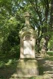 Oude Grafsteen Royalty-vrije Stock Afbeelding