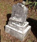 Oude Grafsteen Stock Fotografie