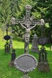 Oude grafstenen royalty-vrije stock foto's
