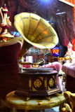 Oude grammofoon Royalty-vrije Stock Afbeeldingen